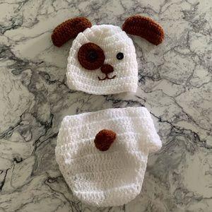 Puppy infant set (newborn photos)